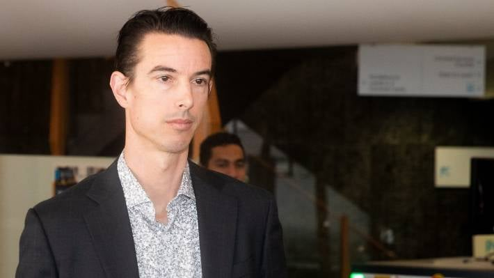 Lawyer Andrew Simpson has been jailed for laundering $2.2 million for the gang. (file photo)