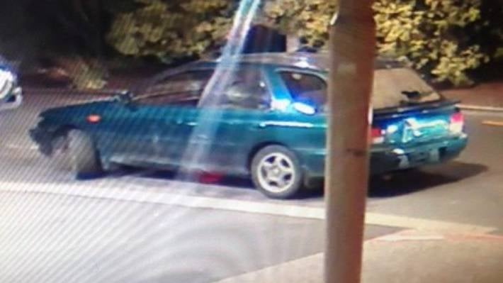Security footage shows the Subaru parked outside Christchurch Hospital's emergency department.