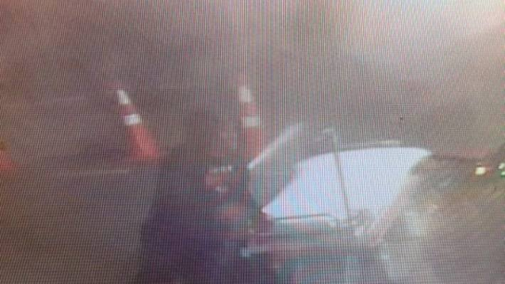 Security footage shows a man, believed to be Cody Hiri, with a mobile hospital bed outside the Christchurch Hospital.