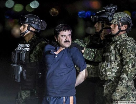 El Chapo allegedly had business connections with the Hells Angels
