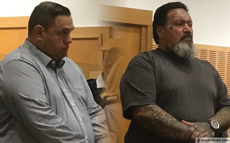 Christopher Smith (left) and Leon Colin Wilson (right) were on trial for the manslaughter of Mitchell Curtis Rehua Paterson.