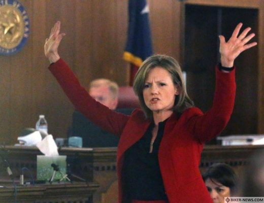 Attorney Casie Gotro gives closing arguments for her client, Jacob Carrizal, in November at the McLennan County Courthouse.