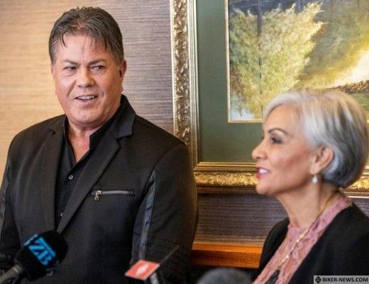 Bishop Brian Tamaki and Pastor Hannah Tamaki launching Coalition NZ earlier this year.