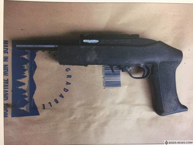 Another firearm used in the shooting.