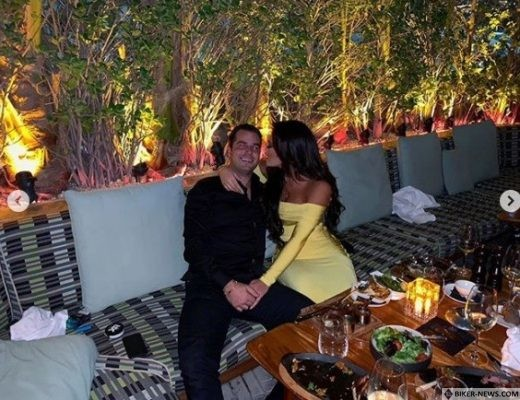 Sofia and Niko enjoying a night out in Marbella