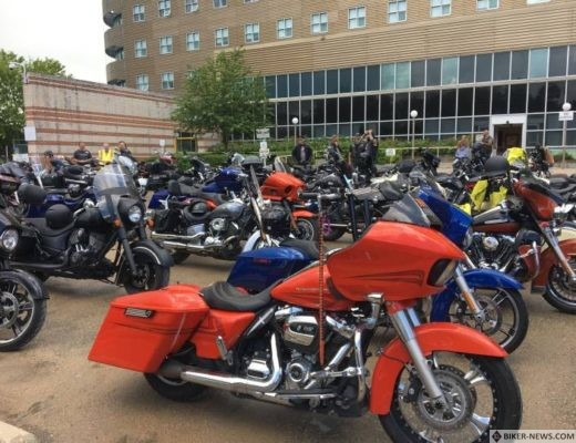 Commandos Motorcycle Club holds rally for Deer Lodge Centre