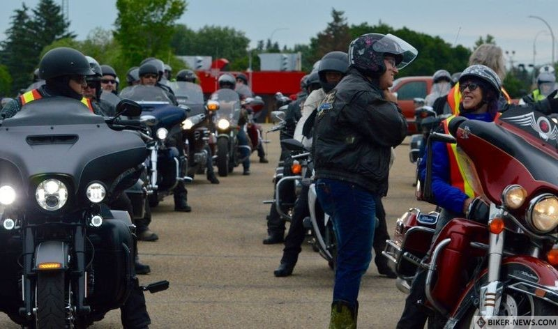 Since their first ride in 1991, the Fort Saskatchewan Motorcycle Association have raised over $334,000 for the Cross Cancer Institute.