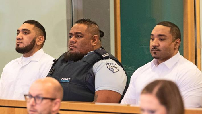 Mesui Tufui (left) and Fisilau Tapaevalu were found guilty of murder and attempted murder at a High Court trial.