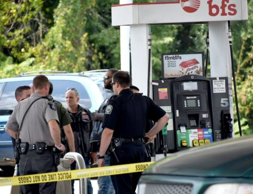 """A report from the Monongalia Emergency Centralized Communication Agency 911 stated there was """"a fight/stabbing in Fairmont between Hells Angels Motorcycle Club and Pagan's Motorcycle Club, and that one of the Hells Angels members was being transported to Ruby Memorial Hospital. """""""