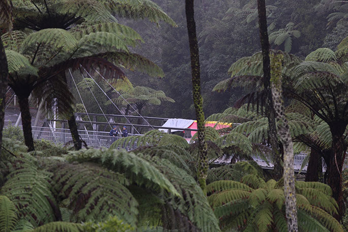 The body of Mitchell Curtis Rehua Paterson was found at McLaren Falls, west of Tauranga.