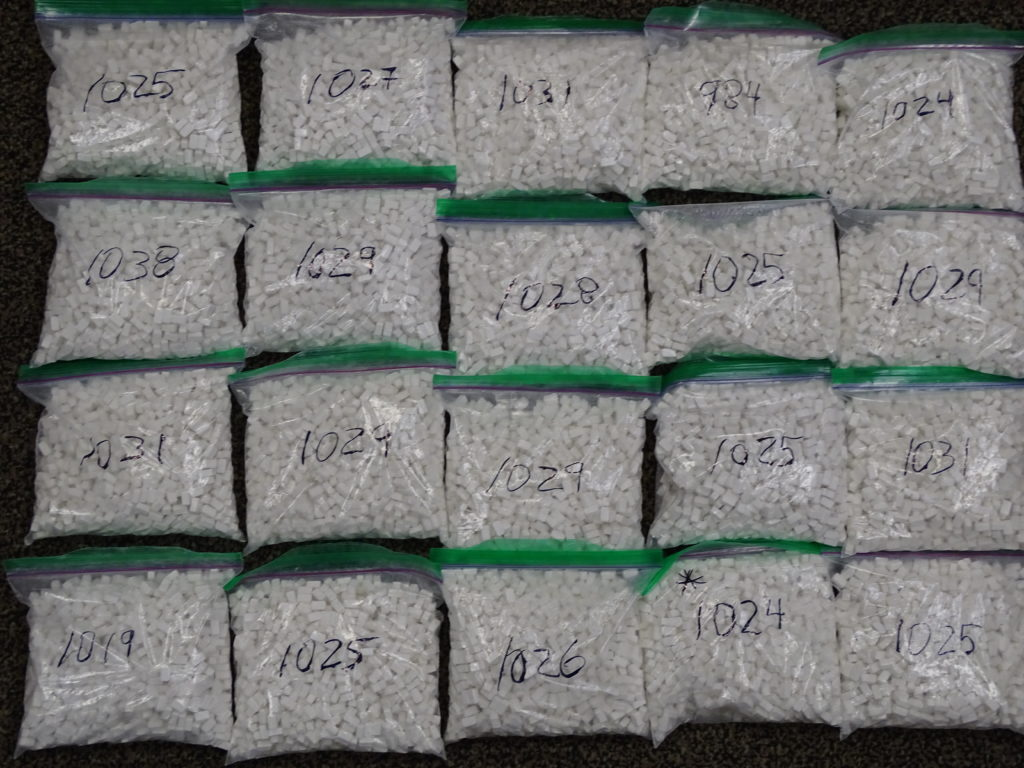 Project Skylark resulted in the seizure of cocaine, methamphetamine, Fentanyl and other drugs. (Supplied)