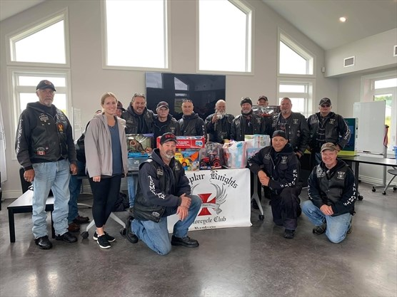 The Templar Knights Motorcycle Club held the annual Toys for Kids ride on Sept. 7. - Nellie Kingsbury photo