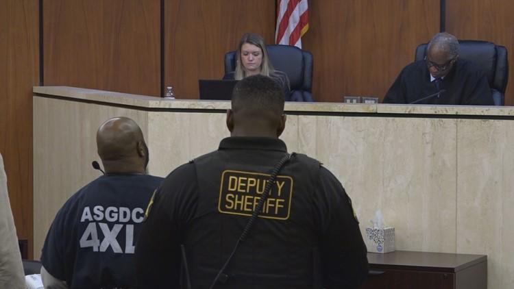 Ricardo Middleton in court