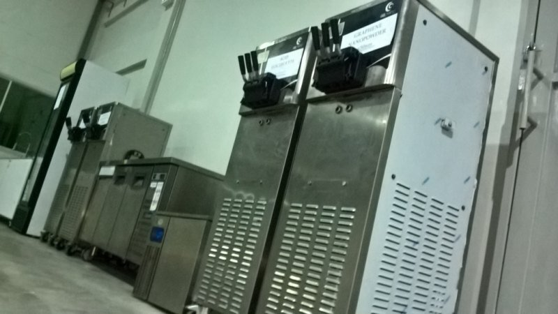 "Police say ice-cream machines were labelled as scientific equipment and sent to a ""laboratory"" in Thailand"