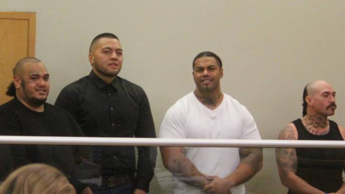 Jarome Fonua, Tyson Daniels, Pasilika Naufahu, and Connor Michael Tamati Clausen all face charges in regards to Operation Nova.