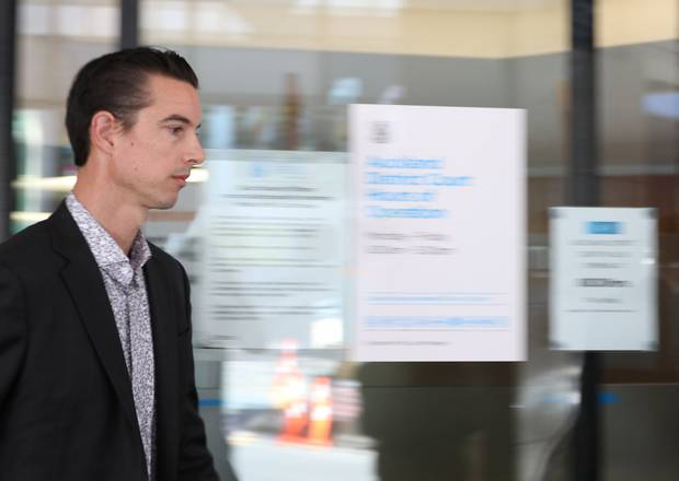 Auckland lawyer Andrew Simpson was charged with laundering more than $2.4m for the Comanchero gang. Photo / Sam Hurley