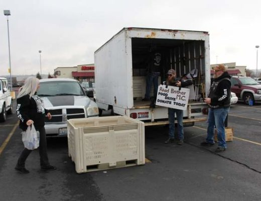 Road Brothers raise money, food donations for less fortunate