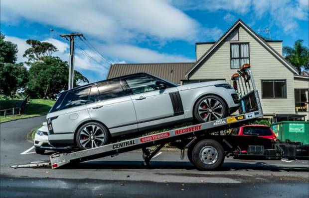 Late model Range Rovers were among the $4m assets seized in Operation Nova. Photo / Supplied