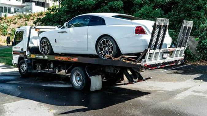 A Rolls Royce Wraith bought by Tyson Daniels was among the $4m assets seized in Operation Nova. (Photo / Supplied)