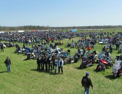Blessing of the Bikes at Baldwin Municipal Airport