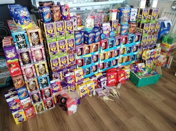 More than 900 Easter eggs have been donated to a team of good Samaritans who are delivering them