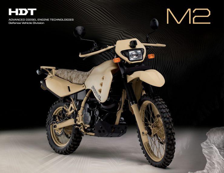 HDT Diesel Motorcycle