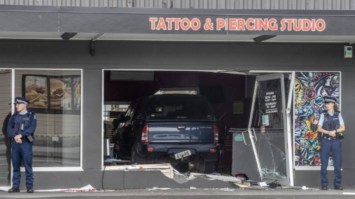 It's believed club rivals were responsible for an attack on a Mongols-linked tattoo parlour in Christchurch earlier this year.
