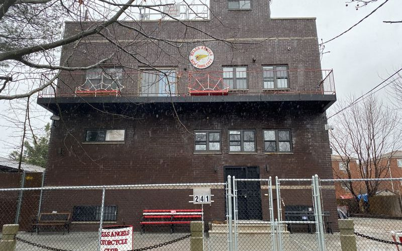 Hells Angels clubhouse in Bronx